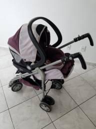 Carrinho de bebê completo