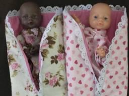 Boneca bebê fantoche