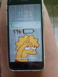 Vendo iPhone 6 com marcas de uso