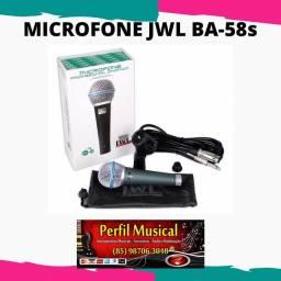 Microfone profissional jWL Ba58s em promoção fazemos entregas
