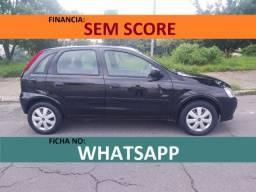 Corsa hatch joy financiamento com score baixo