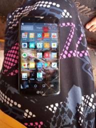Vendo um celular LG r$ 230 reais