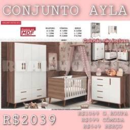 Quarto infantil Ayla (retrô)