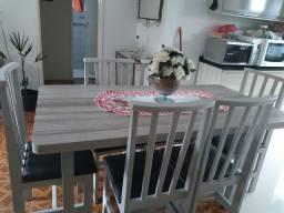 Mesa 6 cadeiras