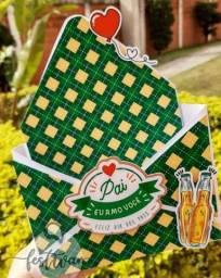 Título do anúncio: Caixa cesta envelope