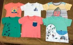 Lote Camisetas Tam. 1