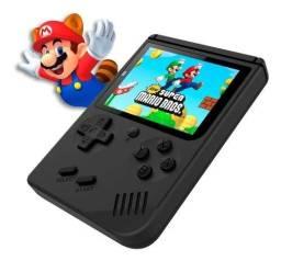 Retrô game de mãos / Super Mário + 399 jogos do Nintendo