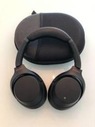 Fone bluetooth Sony WH-1000XM3 - Cancelamento de ruído