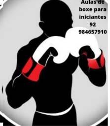 Aulas de boxe para iniciantes