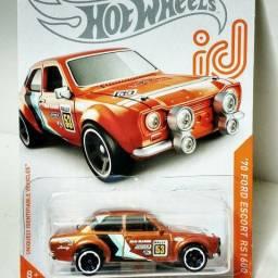 Hot Wheels Ford Escort id series Troco por outro id
