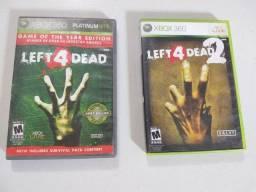 Título do anúncio: Jogos de Xbox 360 left 4 dead