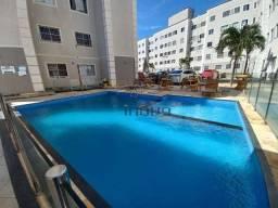Apartamento com 2 dormitórios para alugar, 44 m² por R$ 700/mês - Mondubim - Fortaleza/CE