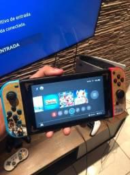 Nintendo Switch - 6 jogos físicos e vários acessórios