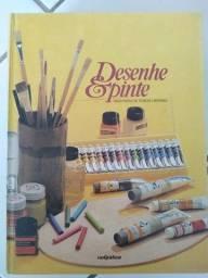 Livros Coleção Desenhe e Pinte