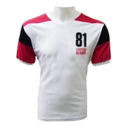 Título do anúncio: Camisa Flamengo 1981 Masculina Retrô