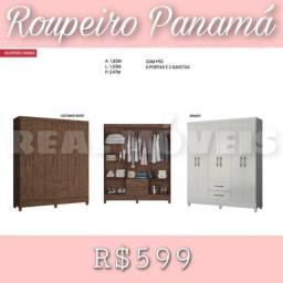 Título do anúncio: Guarda-roupa guarda-roupa roupeiro Panamá