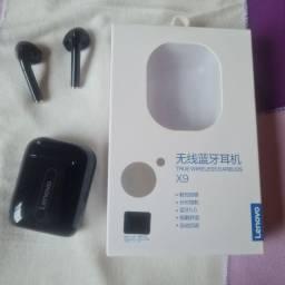 Fone Lenovo sem fio Bluetooth X9 - Zero