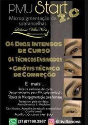 Título do anúncio: Curso de Micropigmentação com Dermografo e tebori