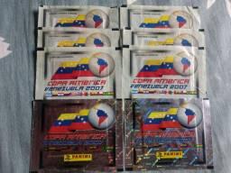 Envelopes copa América 2007 Panini 4 versões
