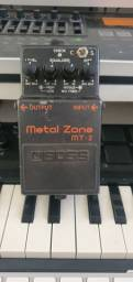 Pedal Boss Metal Zone (MT-2) com Diesel Mod