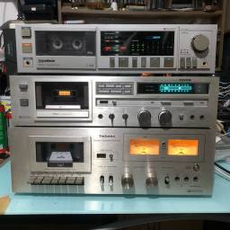 Tape deck Gradiente Polyvox Technics