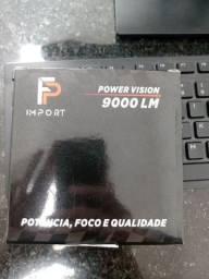 Kit Lampadas Led Power Vision Fp 9000lm