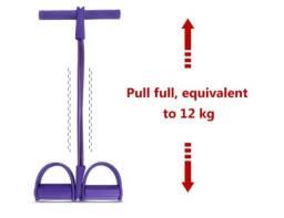Elástico Extensor Pedal Fitness para Musculação,Pilates e Treinamento Funcional