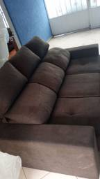 Sofa retratil e reclinável em ótimo estado