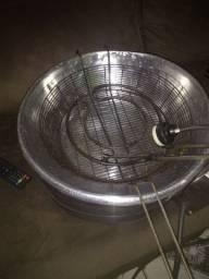 Fritadeira elétrica redonda 7 litros usada