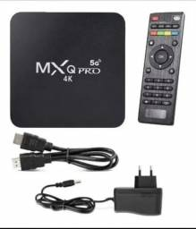 TV BOX 4K - Wi-fi 5ghz - 4gb RAM - 64gb - Android 10