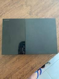 PS2 Slim Desbloqueado (Semi-Novo) Preço Negociável