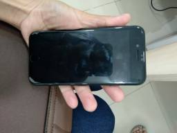 Iphone 7 preto 32 GB novo com NF