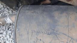 Bojo traseiro escape original Honda Civic si 2007 a 2012 muito novo 30 mil km k20z3