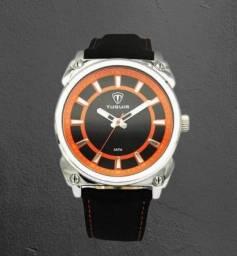 Relógio Masculino Tuguir Laranja Original