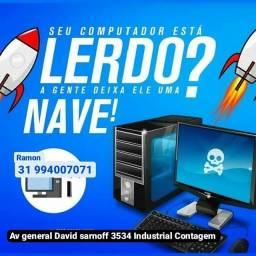 Título do anúncio: FORMATAÇÃO DE COMPUTADOR  E NOTEBOOK