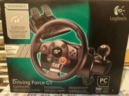 Volante Logitech Driving Force Gt Ps3/PC
