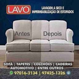 Impermeabilização de sofá, lavagem a seco, limpeza de sofá e impermeabilização de sofá