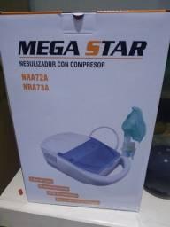 Nebulizador inalador com compressor