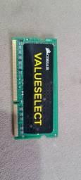 Memória DDR3 CORSAIR 8 GB