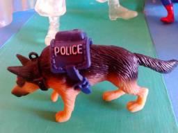 Cão Police boneco