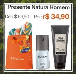 Presente Natura Homem