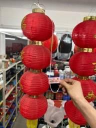 Bolas luminária decorativo japonesa 60 reais cada