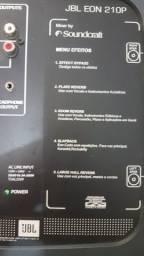 JBL EON 210P .o PAR .300 wts completo + tripé