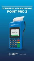 Maquina cartões débito e crédito com bobina Point Pro 2