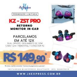 Fone Kz Zst Pro colorful  - Dual Drivers