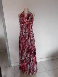 Título do anúncio: Vestido longo tamanho 50