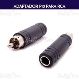 Adaptador P10 para RCA
