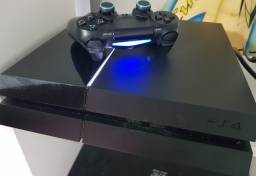 Playstation 4 + Camera + 4 Jogos + Controle
