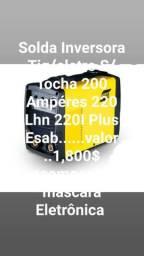 Solda Inversora Tig/eletro S/ Tocha 200 Ampéres 220 Lhn 220I Plus Esab