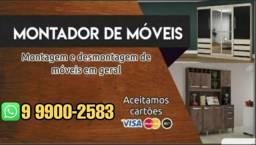 Título do anúncio: Montagem de móveis em geral